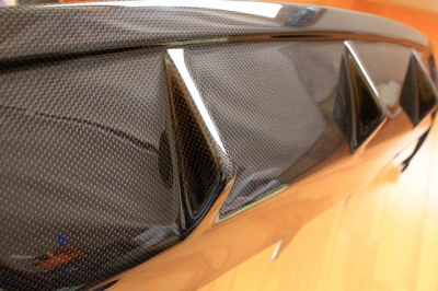 Audi S4 DEVAL カーボンリア ディフューザー