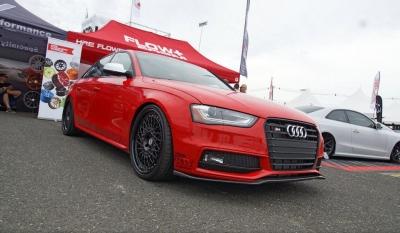 Audi S4 DEVAL カーボンスプリッター