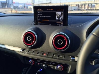 Audi A3 カラーエアベントベゼル・ブリリアントレッド