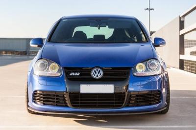 VW GOLF5 R32 フロントスプリッター フロントスポイラー Flow Designs