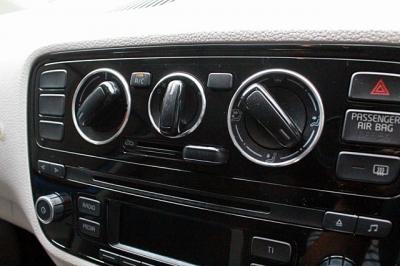 VW up! アップ インテリア ドレスアップ エアコンダイヤルスイッチ リング