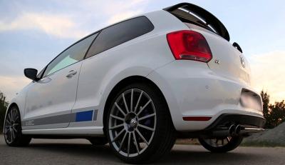 VW本国純正 POLO-R WRC リアディフューザー