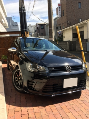 VW NEW(6C) POLO 6R POLO 用 アルミ調ミラーカバー