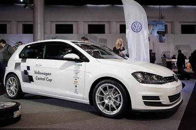 VW GOLF7 カストロールカップ エディション スタイル フロントスポイラー