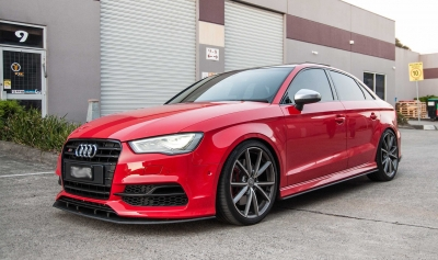 Audi A3,パーツ,フロントスプリッター,フロントスポイラー