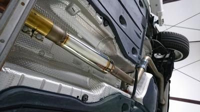 GOLF7 GTI マフラー チャンバー