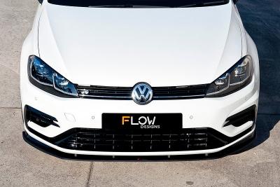 GOLF7.5,フロントスプリッター,Flow Designs,スポイラー,VW,ゴルフ7.5