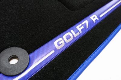 ゴルフ7R,GOLF7 R,GOLF7.5,フロアマット,フロアカーペット