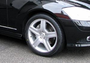 メルセデスベンツAMG W221 AMG WHEEL Styling-V(スターリングシルバー)I