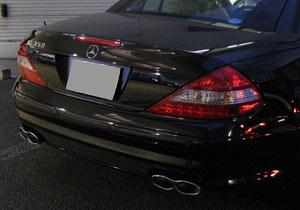 メルセデスベンツAMG SL65 リアースカート+リアーマフラー