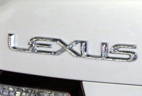 レクサス LS460用 スワロフスキー リアエンブレム