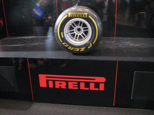 F−1のタイヤです。