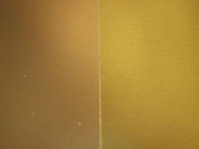 ゴールド鏡面赤金・青金 メタリック系特殊紙
