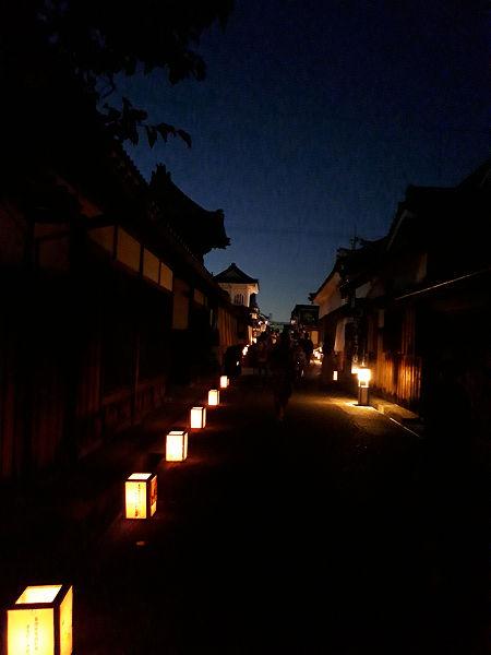 興正寺別院の通り