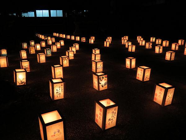 興正寺別院灯