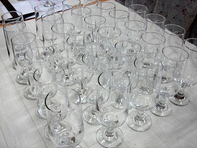 成人記念名入り彫刻ピルスナーグラス