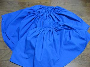 発表会のスカート
