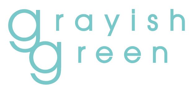 カフェ「grayish green」様のロゴマーク他