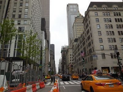 NY弾丸旅行⑦五番街とティファニ...