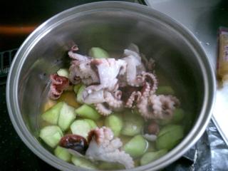タコとナスの味噌煮