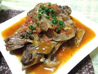 カジキマグロのトマト煮1