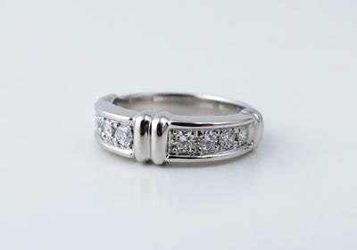 ダイヤモンド指輪直し