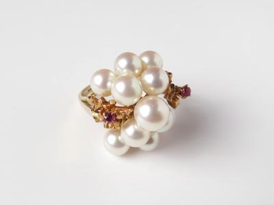 真珠指輪リフォーム