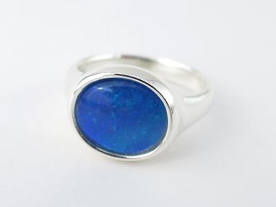 オパール指輪デザイン