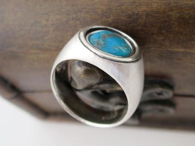 トルコ石指輪メンズ