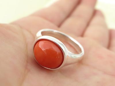さんご指輪デザイン