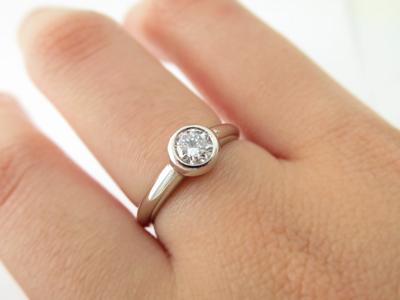 立爪指輪リフォーム