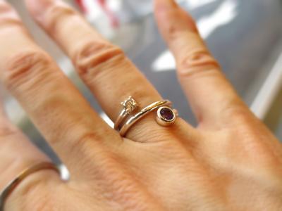 指輪にリフォーム