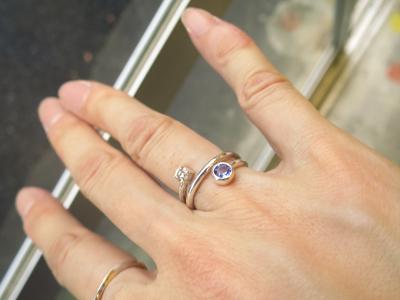 指輪リメイク
