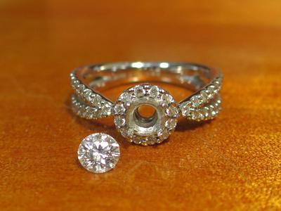 ダイヤ指輪リメイク