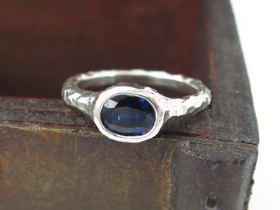 サファイア指輪リメイク