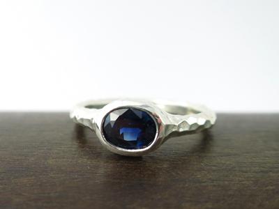 サファイア指輪リフォーム