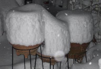 14日の積雪