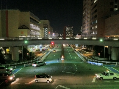 南大沢夜景20110225