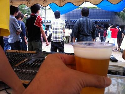 ビールでPA