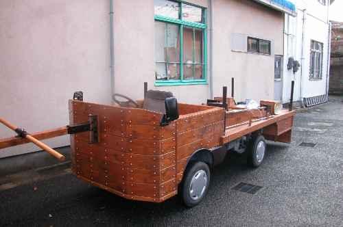 新しい台車