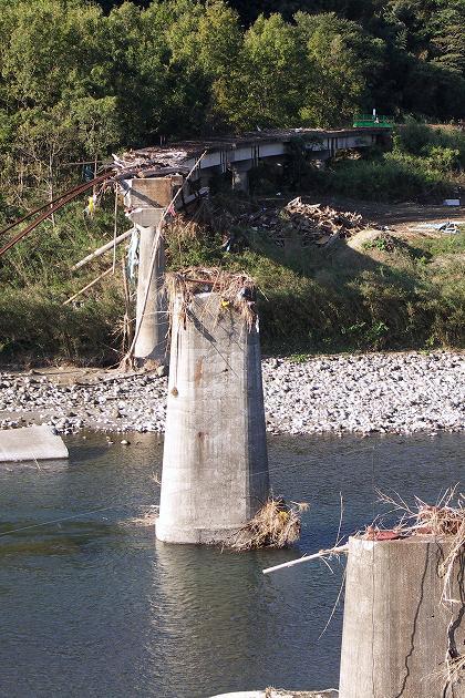 高千穂鉄道の被害の一部