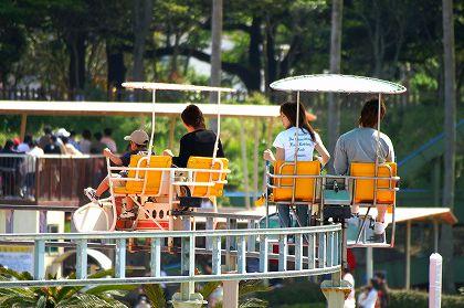 宮崎市 こどものくにサイクルモノレール