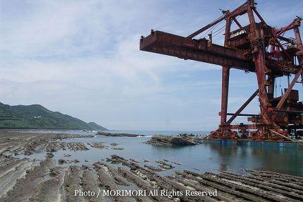 日南海岸 内海 座礁 09