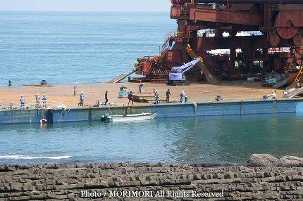 日南海岸 内海 座礁 04