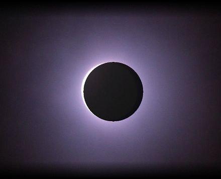 宮崎県の日食(部分日食)予想写真