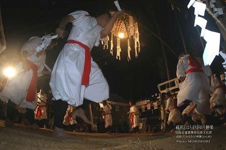 祓川神楽(高原の神舞)