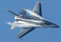 F-16デモ