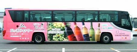 五ヶ瀬町 ラッピングバス ひのくに号 02