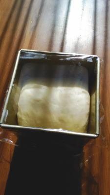 パン発酵中