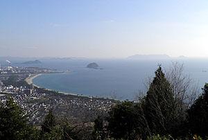 茶臼山からの眺望